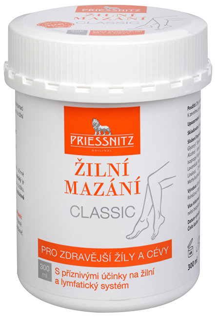 Zobrazit detail výrobku Simply You Priessnitz Žilní mazání Classic 300 ml