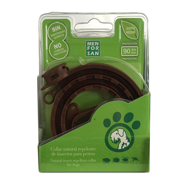 Zobrazit detail výrobku Menforsan Přírodní obojek pro psy, odpuzující klíšťata a blechy (Natural Insect Repellent Collar for Dogs)