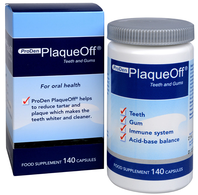 PlaqueOff Proden PlaqueOff® Teeth and Gums 140 kapslí