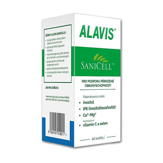 Alavis Sanicell ™ pre psy a mačky 60 tbl.