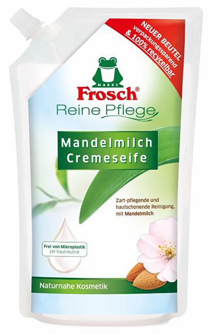 Zobrazit detail výrobku Frosch Tekuté mýdlo s mandlovým mlékem - náhradní náplň 500 ml
