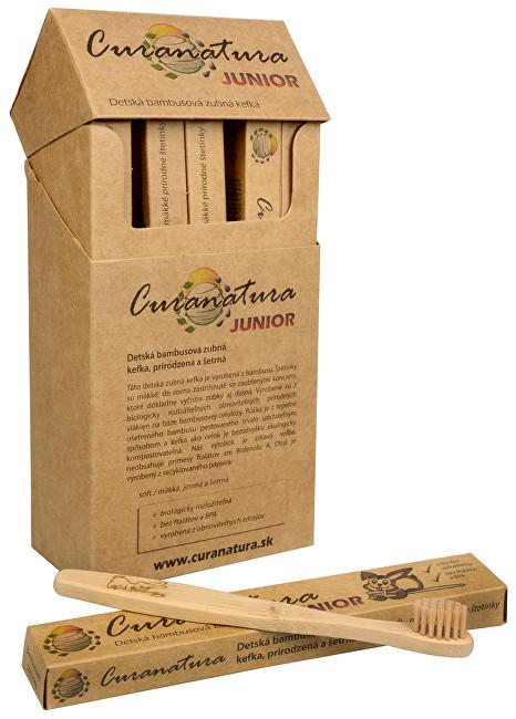 Zobrazit detail výrobku Curanatura Zdravý dětský zubní kartáček Curanatura Junior 12 ks
