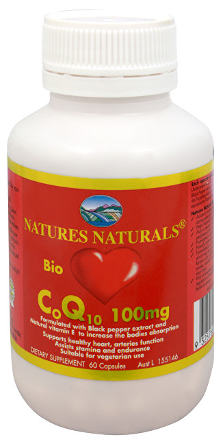 Zobrazit detail výrobku Australian Remedy Bio CoQ10 100 mg 60 kapslí