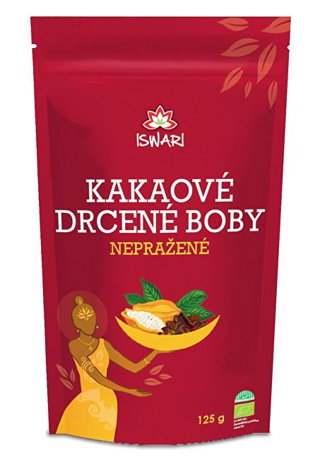 Zobrazit detail výrobku Iswari BIO Kakaové drcené nepražené boby 125 g