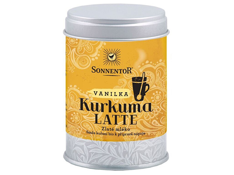 Zobrazit detail výrobku Sonnentor Bio Kurkuma Latte-vanilka 60g dózička (Pikantní kořeněná směs)