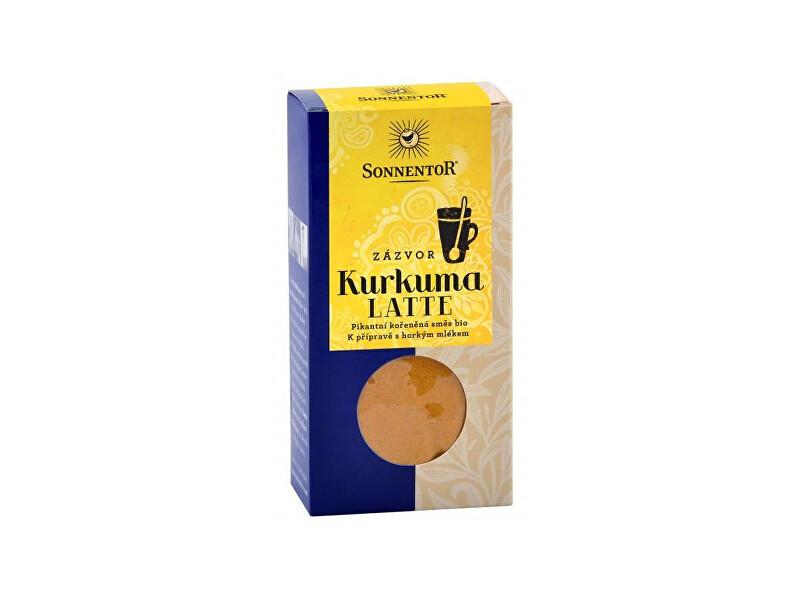 Bio Kurkuma Latte-zázvor 60 g krabička ( Pikantní kořeněná směs )