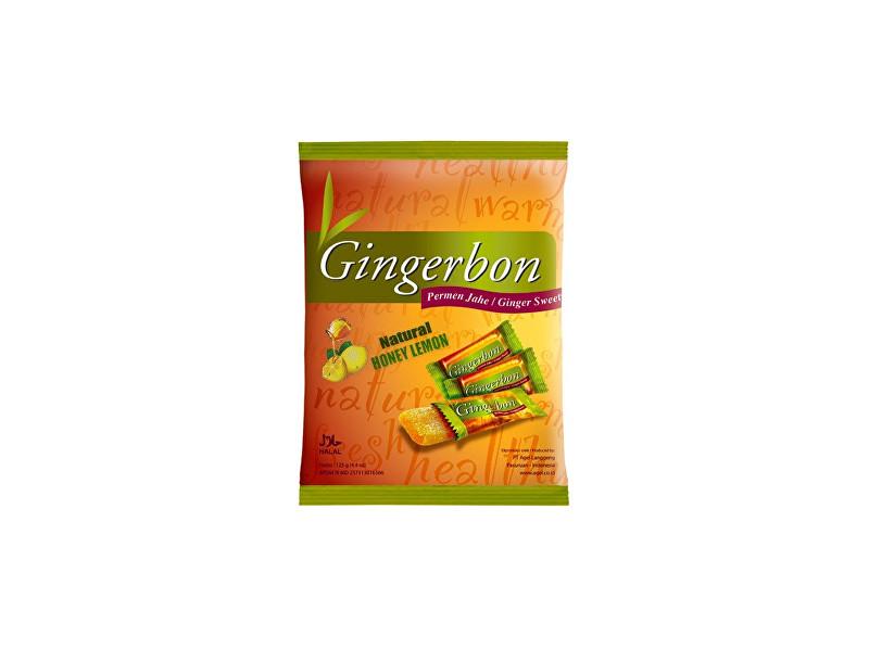 Gingerbon 125 g citron s medem