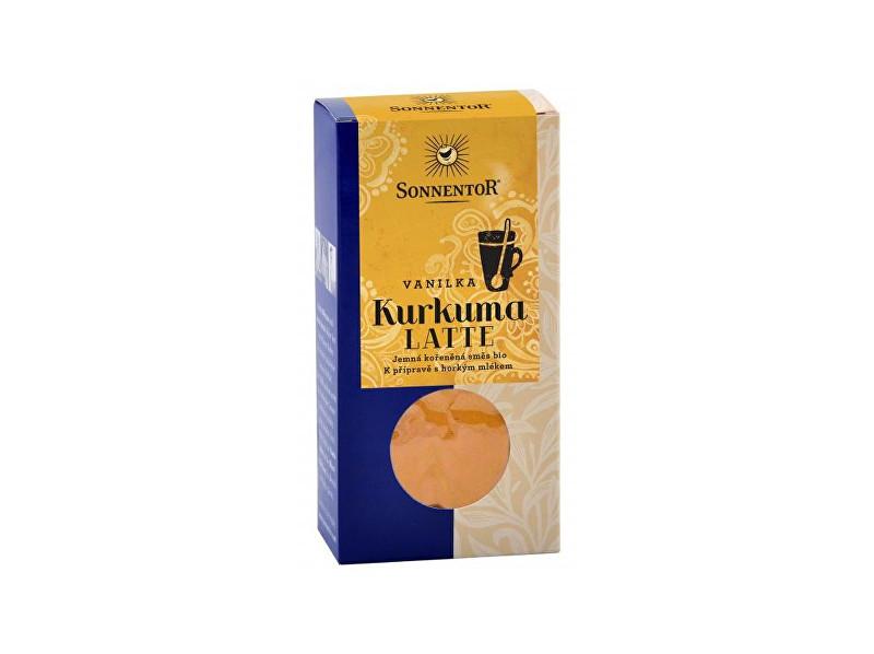 Bio Kurkuma Latte-vanilka 60g krabička (Pikantní kořeněná směs)