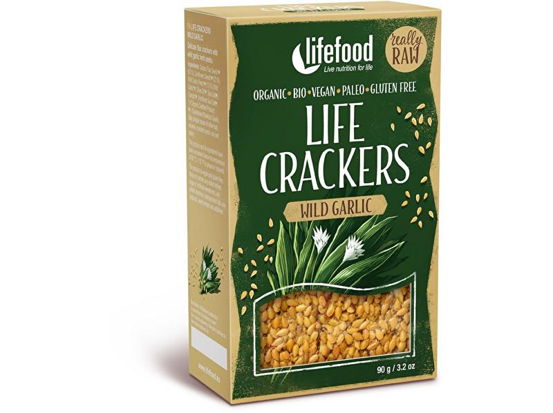 Zobrazit detail výrobku Lifefood Bio Life crackers s medvědím česnekem 90 g