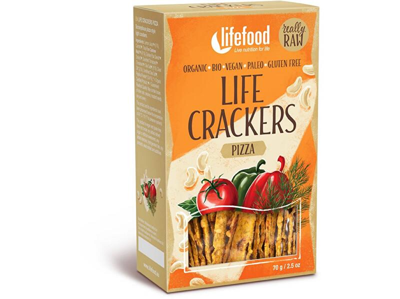 Zobrazit detail výrobku Lifefood Bio Life crackers á la pizza 70 g