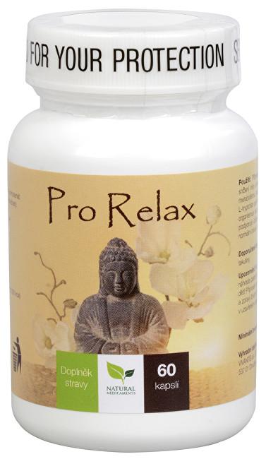 Zobrazit detail výrobku Natural Medicaments Pro Relax 60 kapslí