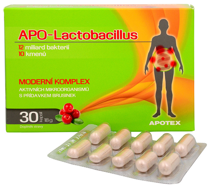 APO-Lactobacillus 30 kapslí