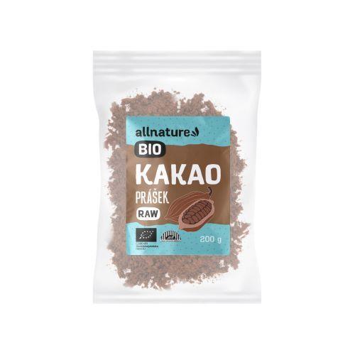 Zobrazit detail výrobku Allnature RAW BIO Kakaový prášek 200 g