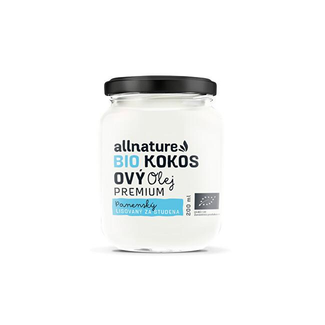 BIO kokosový olej Premium 200 ml