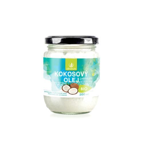 Zobrazit detail výrobku Allnature BIO kokosový olej Premium 200 ml