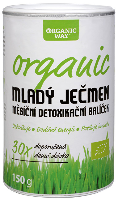 Organic way BIO Mladý jačmeň smoothie Organic way 150 g