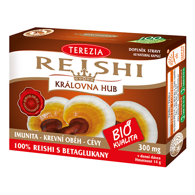 Zobrazit detail výrobku Terezia Company BIO Reishi 60 kapslí
