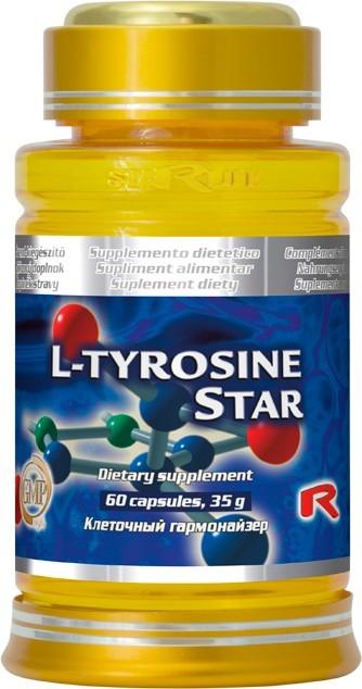 Zobrazit detail výrobku STARLIFE L-TYROSINE STAR 60 kapslí