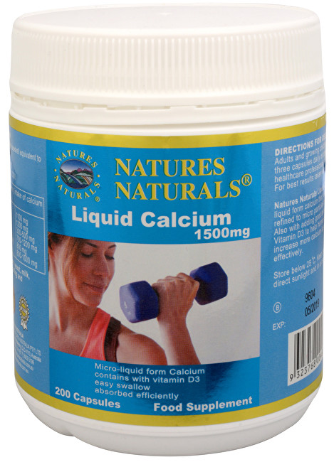 Zobrazit detail výrobku Australian Remedy Liquid Calcium 1500 mg 200 kapslí