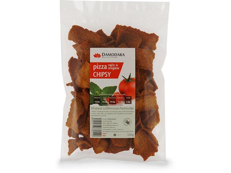 Zobrazit detail výrobku Damodara Pizza chipsy (rajče oregáno) 100 g