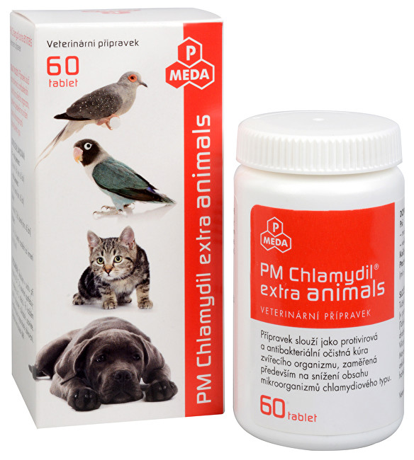 Zobrazit detail výrobku Purus Meda PM Chlamydil extra animals 60 tbl.