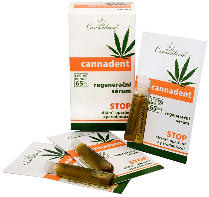 Zobrazit detail výrobku Cannaderm Cannadent sérum 10 x 1,5 ml - SLEVA - pomačkaná krabička, v balení chybí 1 sérum