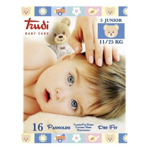 Zobrazit detail výrobku Trudi Baby Dry Fit Junior 11-25 kg 16 ks