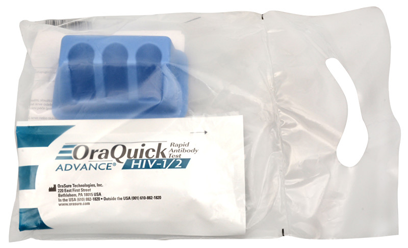 OraQuick ADVANCE HIV-1/2 Rapid Antib. test