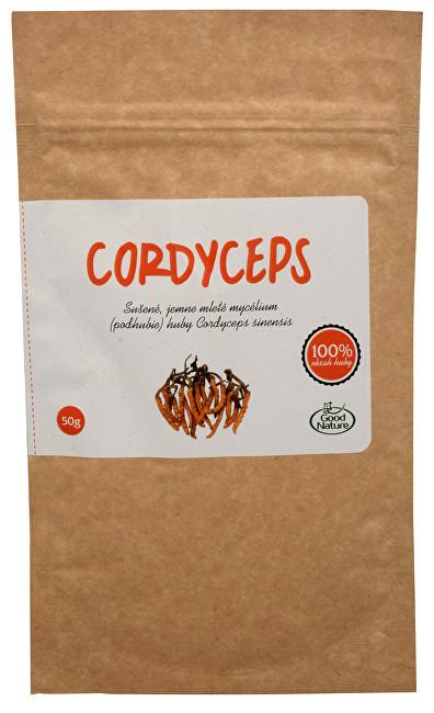 Zobrazit detail výrobku Good Nature Cordyceps sinensis 50 g čisté mycélium v prášku