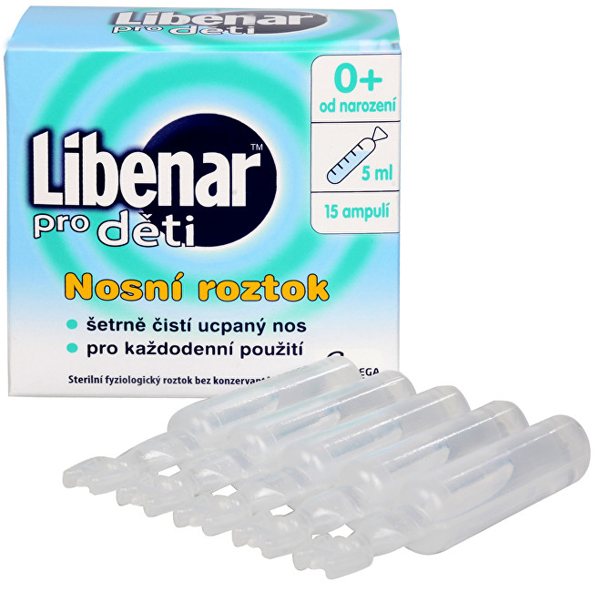 Zobrazit detail výrobku Omega Pharma Libenar pro děti 15 ampulí po 5 ml