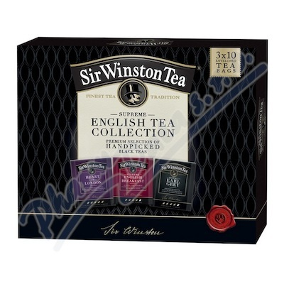 Sir Winston Collection box 3x10 nálevových sáčků