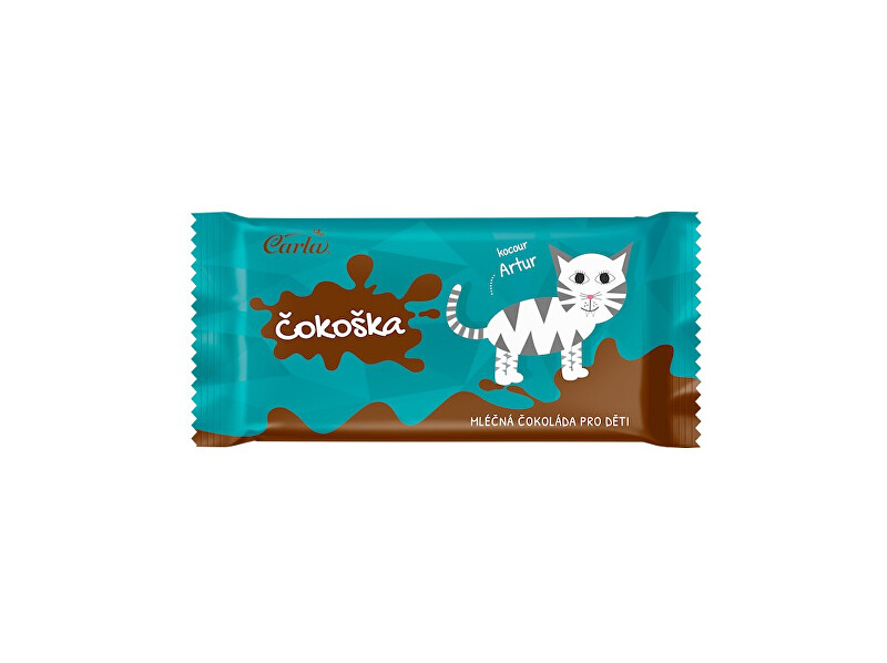 Čokoška - mléčná čokoláda pro děti 20g