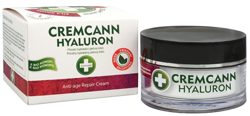 Cremcann Hyaluron - přírodní pleťový krém proti vráskám 50 ml