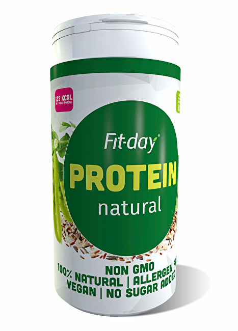 FIT-DAY FIT-DAY Plant based protein Natural 600 g