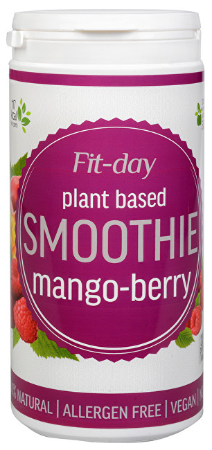 FIT-DAY FIT-DAY Plant based smoothie MANGO-BERRY 600 g