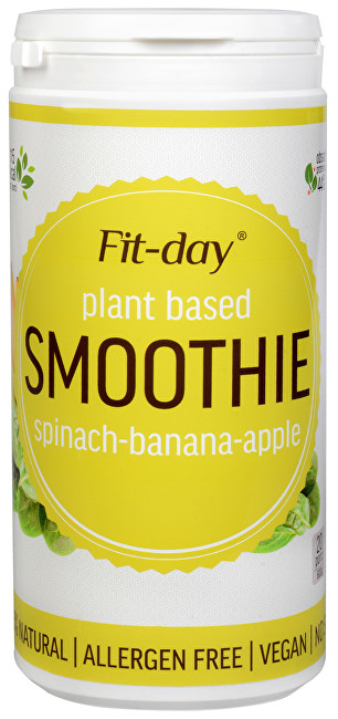 FIT-DAY FIT-DAY Plant based smoothie SPINACH-BANANA-APPLE 600 g