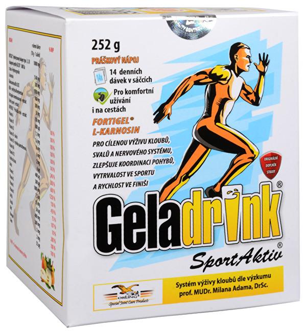 Zobrazit detail výrobku Geladrink SportAktiv nápoj sáčky 14 / 252 g