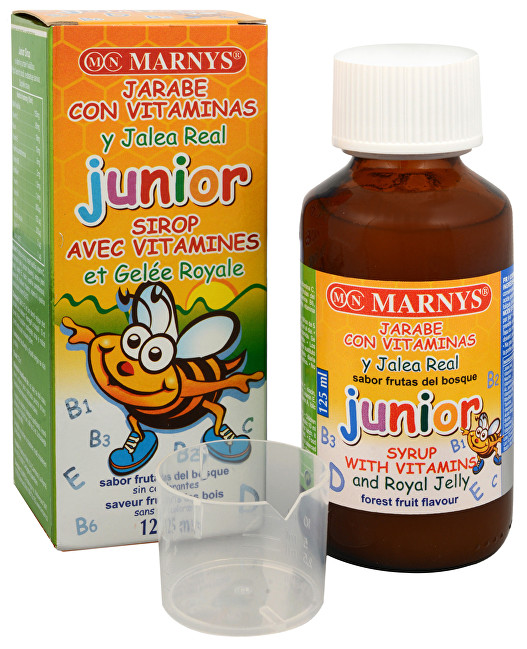 Zobrazit detail výrobku Marnys Junior sirup 125 ml
