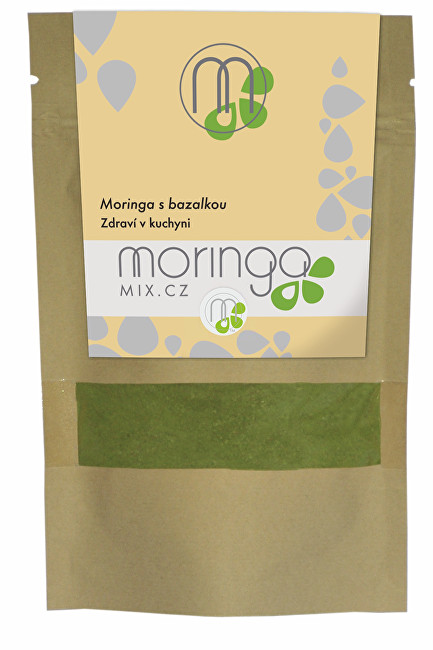 Zobrazit detail výrobku Moringa MIX Moringa s bazalkou 30 g