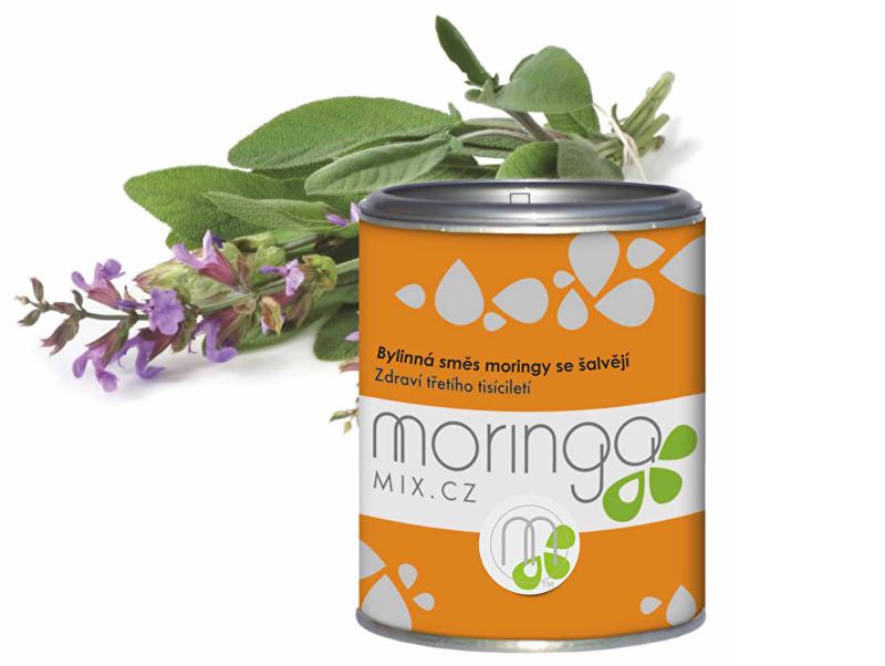 Zobrazit detail výrobku Moringa Mix Moringa oleifera se šalvějí 100 g