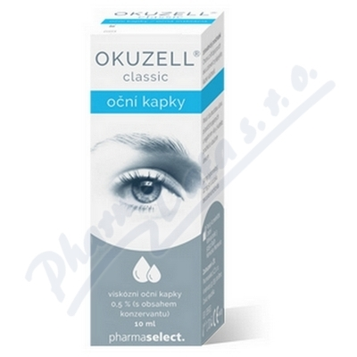 Pharmaselect International Beteiligungs GmbH, Víde Okuzell classic oční kapky 10ml