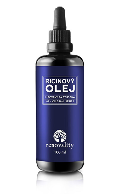 Zobrazit detail výrobku Renovality Ricinový olej za studena lisovaný 100 ml