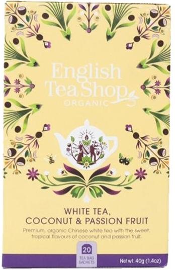 Zobrazit detail výrobku English Tea Shop Bílý čaj s kokosem a passion fruit 20 sáčků