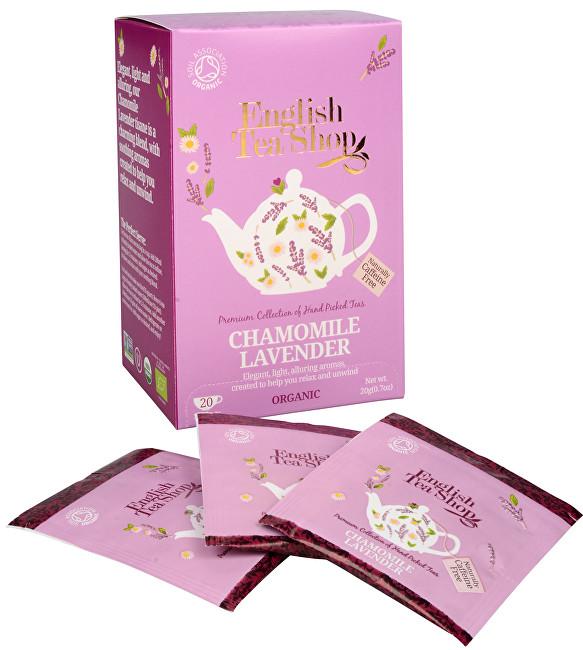 Zobrazit detail výrobku English Tea Shop Čaj Heřmánek a levandule 20 sáčků