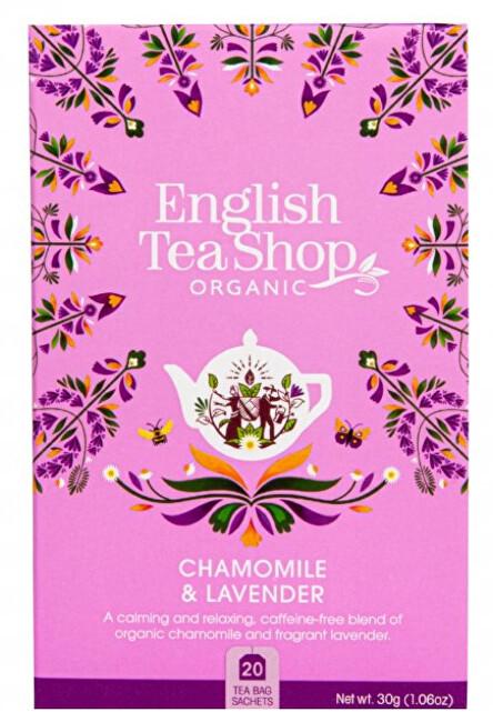 Zobrazit detail výrobku English Tea Shop Heřmánek a levandule 20 sáčků