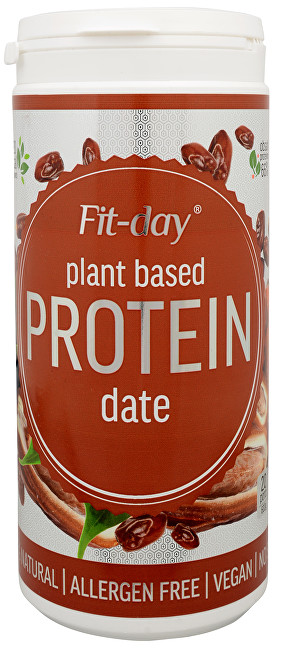FIT-DAY FIT-DAY Plant based protein DATE 600 g