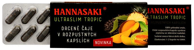 Hannasaki UltraSlim - Tropic - cestovní balení 10 x 1 g