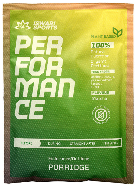 Iswari Sports Performace porridge Bio 75g