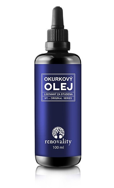 Zobrazit detail výrobku Renovality Okurkový olej za studena lisovaný 100 ml
