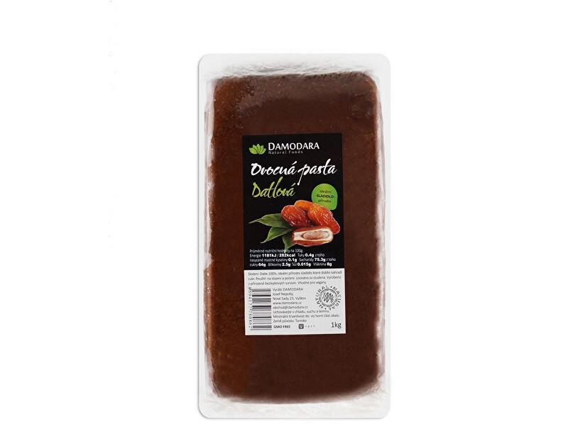 Zobrazit detail výrobku Damodara Ovocná pasta Datlová 1kg - SLEVA - KRÁTKÁ EXPIRACE 31.8.2021